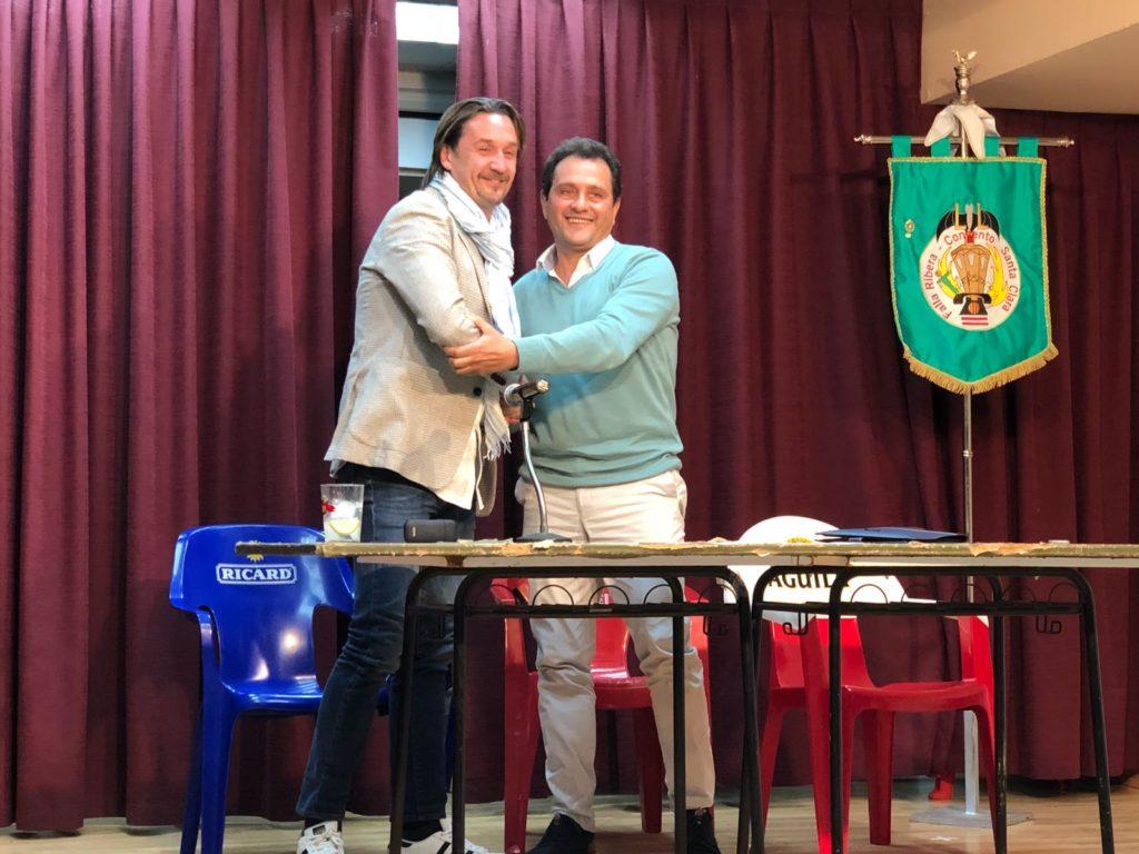 Enrique Fraile nuevo presidente de la Falla Ribera Convento Santa Clara